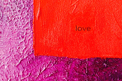 Original Painting From The Meditation Series: Love.