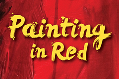 Original Painting and Design for Painting In Red