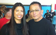 Celina Duffy With Guro Felix Valencia at Kali Method